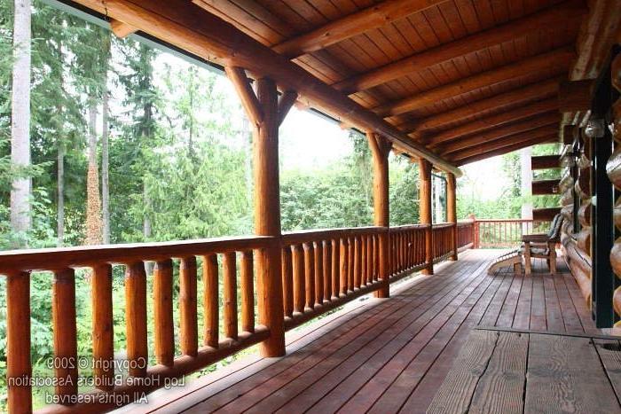 Porch Log Cabin Photos