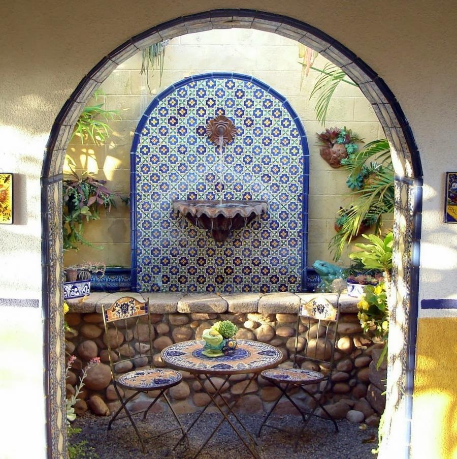 Spanish garden design photos for Garden design ideas in spain
