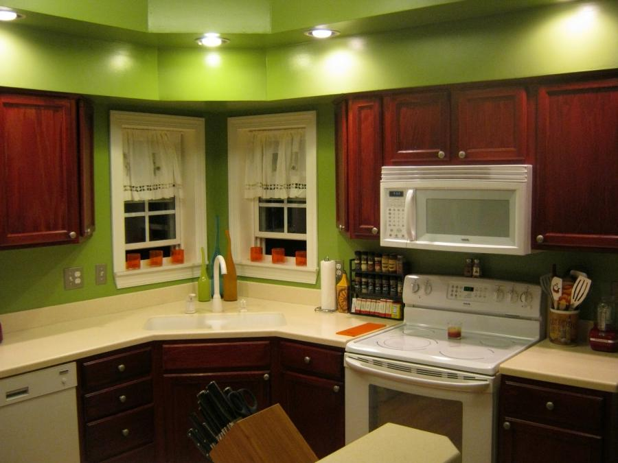 Photos Of Green Colored Kitchens