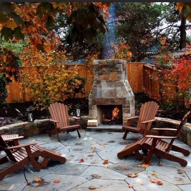 Photos Of Outdoor Fireplace