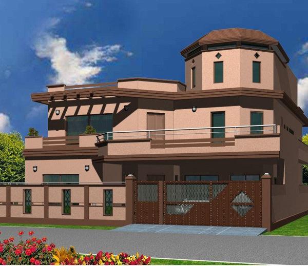 Front Elevation Of 5 Marla Houses Joy Studio Design