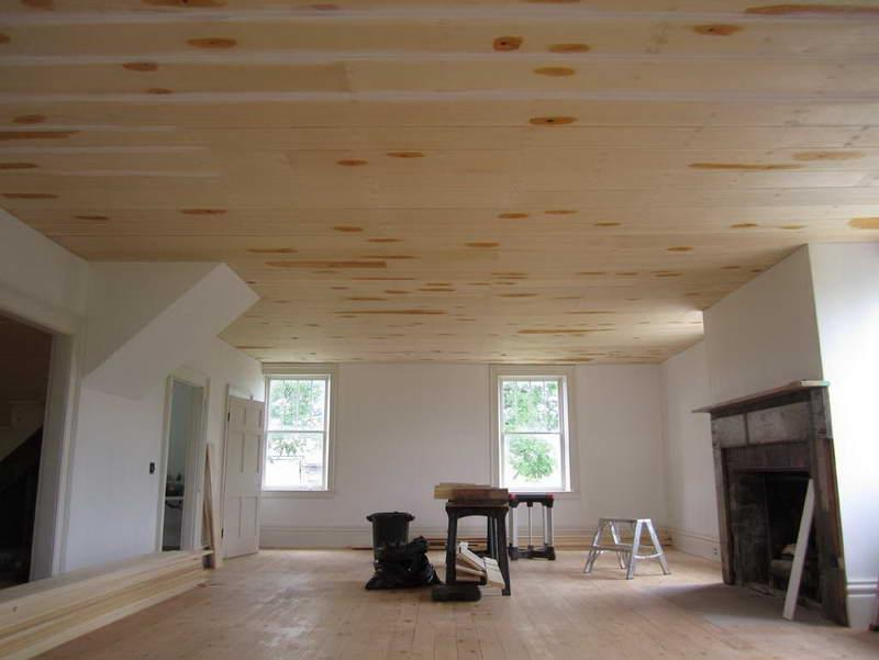 ... diy basement ceiling ...