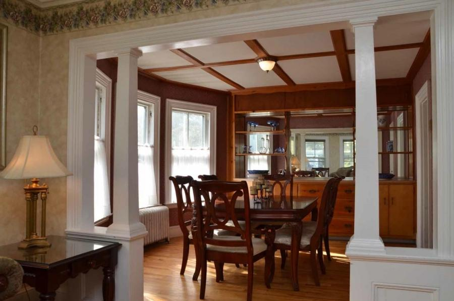 Dining room columns photos for Interior design 77379