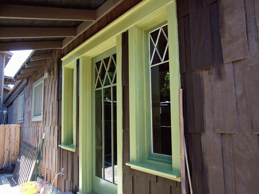 Photos Houses Brown Trim