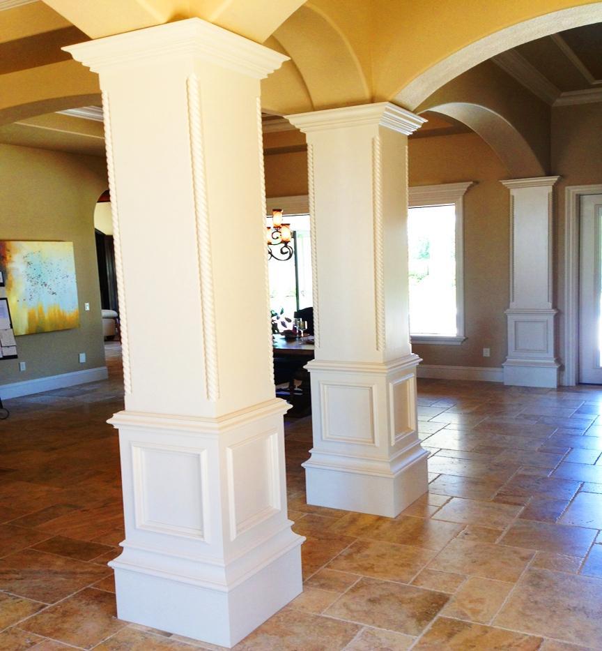 Decorative Columns Interior Photos