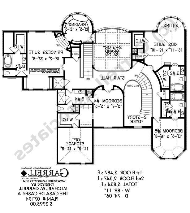 Southwestern house plans photos for Southwestern floor plans