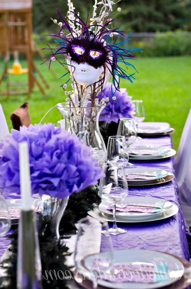 Elegant Party Decorations Photos