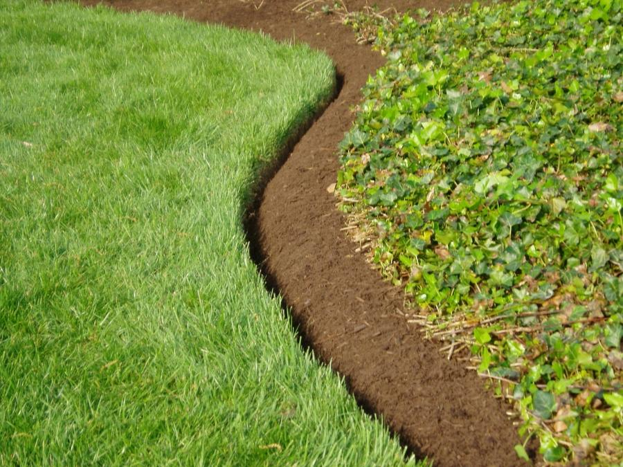 photos of garden edging