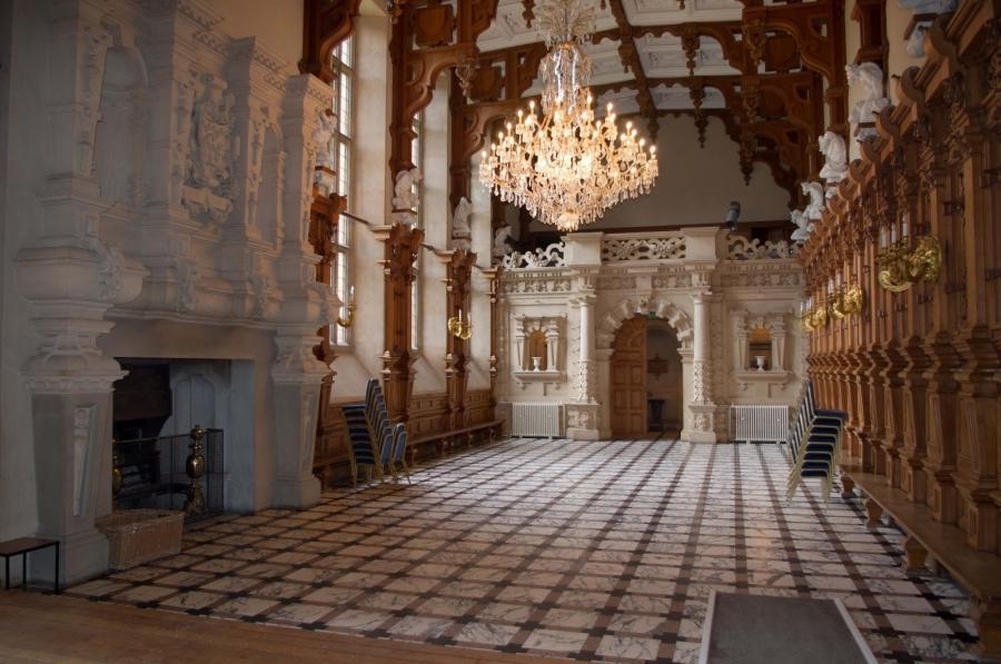 Harlaxton Manor Interior Photos