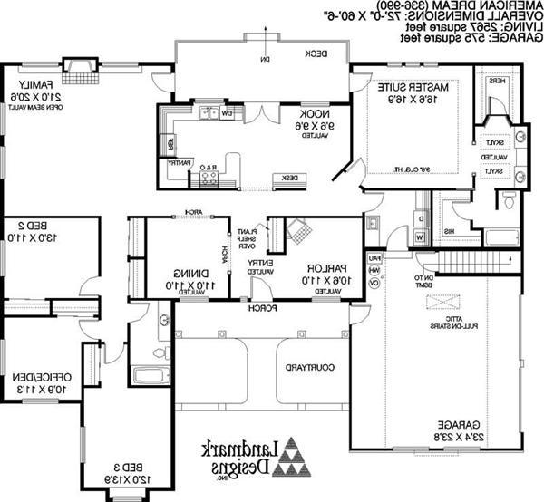 American house plans with photos for American dream homes plans
