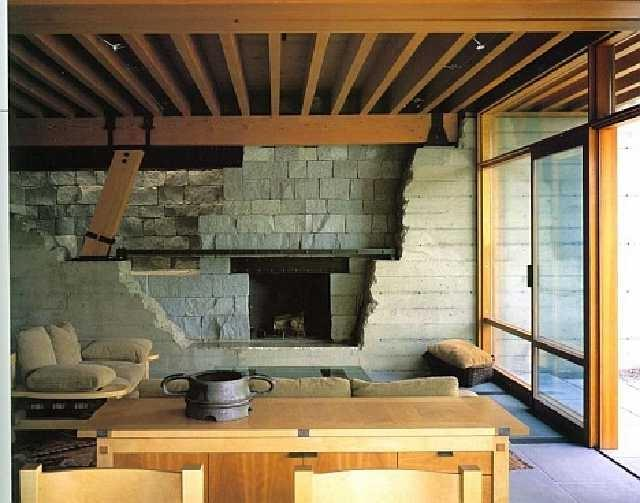 Photos of the interior of bill gates house