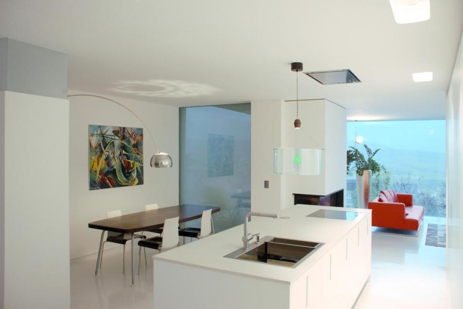 Passing Area Kitchen Apartment Conversion Interior Design