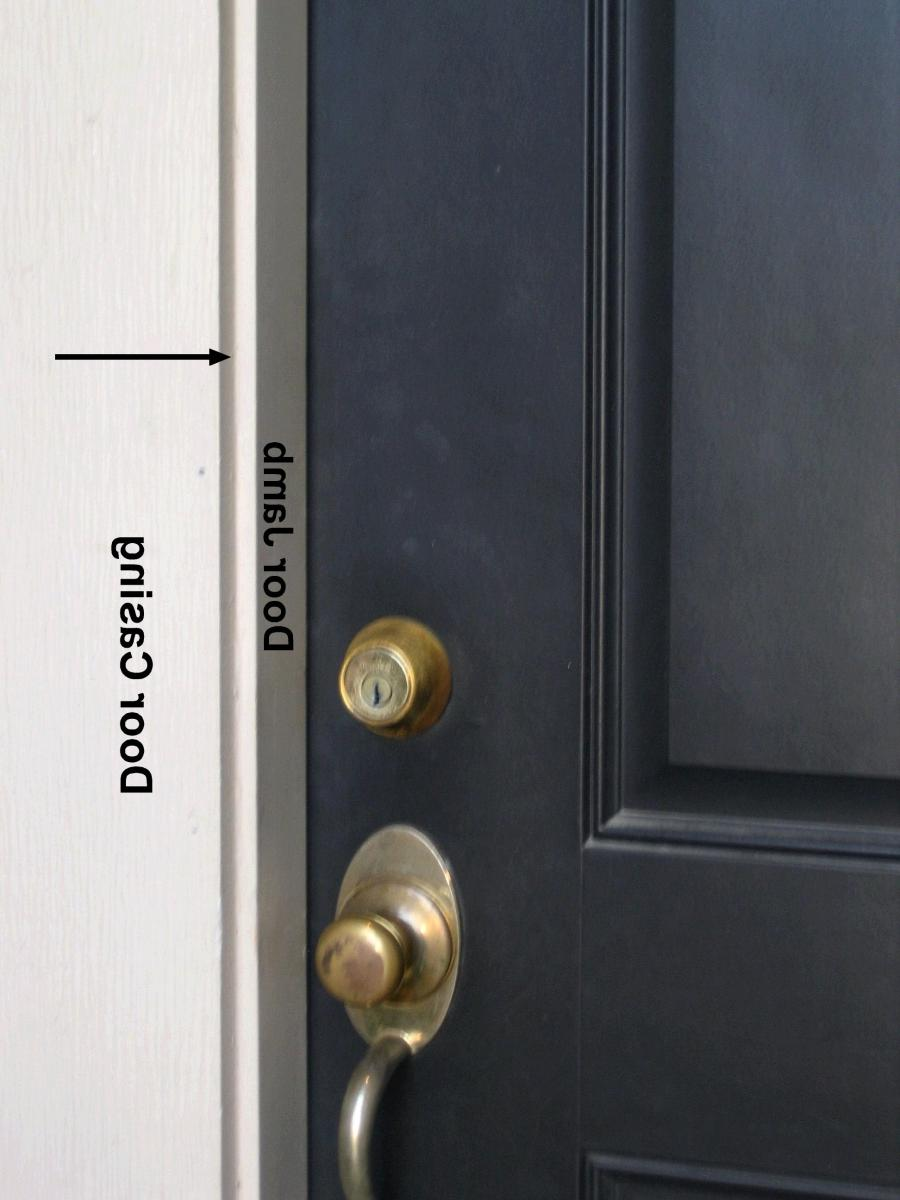Photo of door opening for Retractable screen solutions