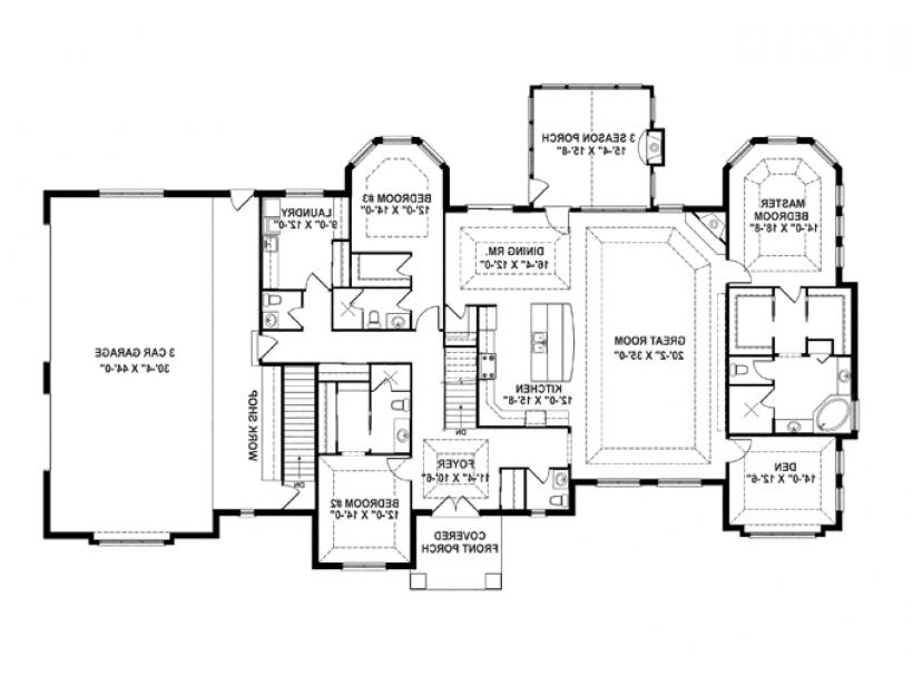 1 Level House Plans With Photos
