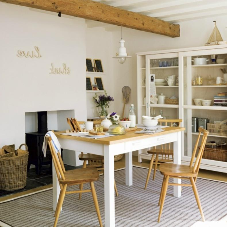 photos cottage style dining rooms