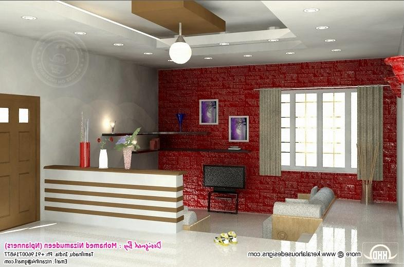 Indian home interior design hall styles for Indian hall interior design photos