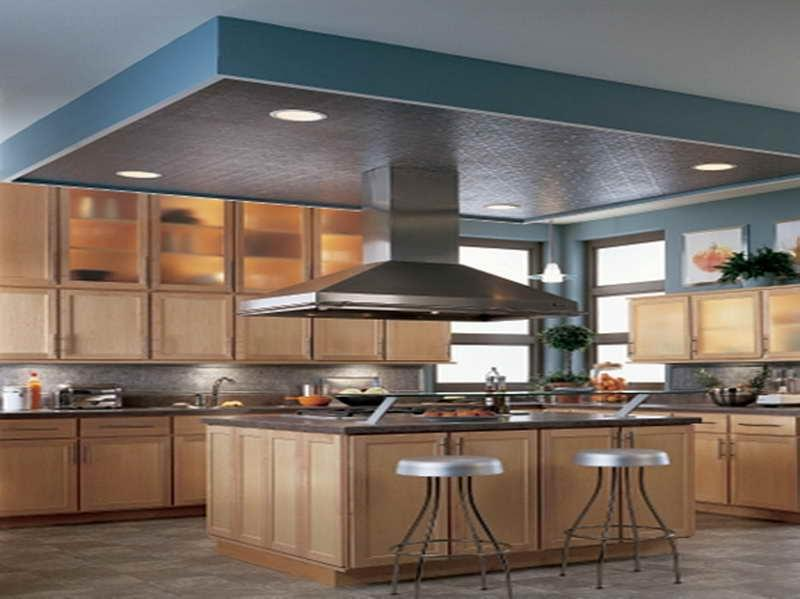 ... Ceiling Design for Kitchen with iron bench ...