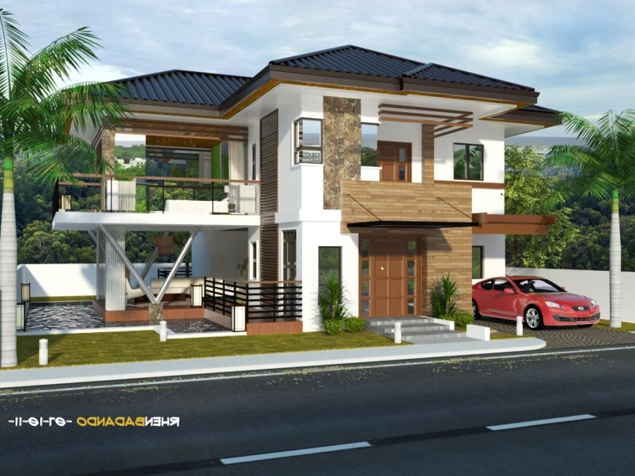 Photos of simple houses in the philippines for Simple modern house in the philippines