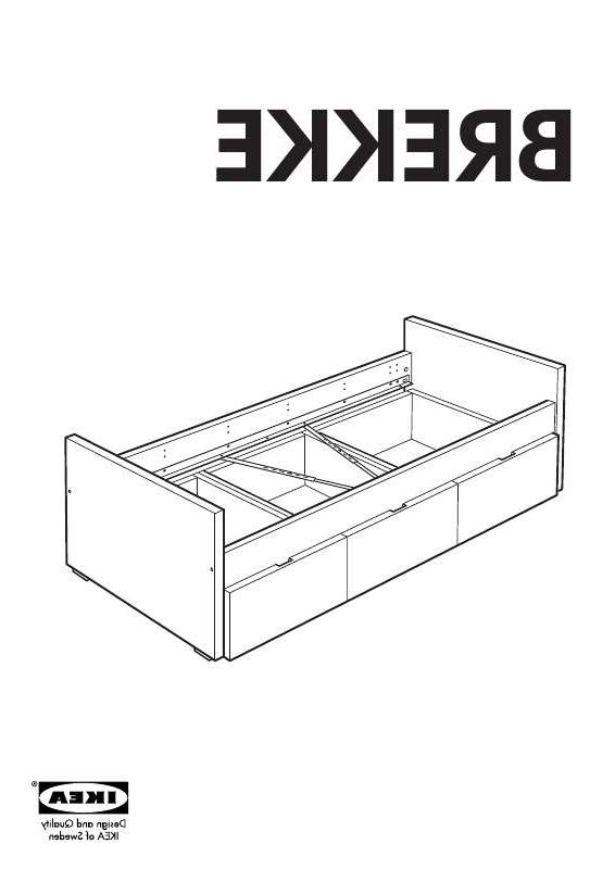 Photos Ikea Brekke Twin Bed