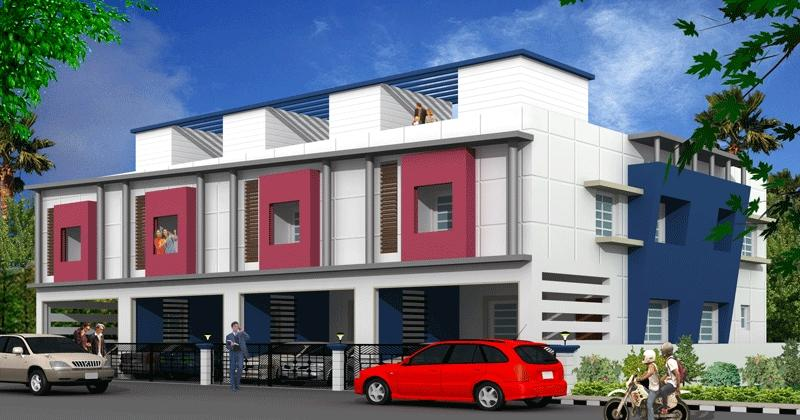 Front Elevation Of House In Chennai : Front elevation apartments in india joy studio design