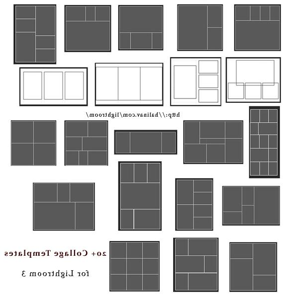 Photo templates for lightroom for Free lightroom collage templates