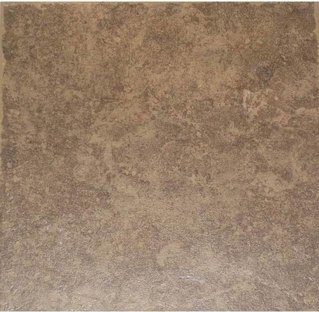 Style Selections La Balantina Brown Ceramic Floor Tile...