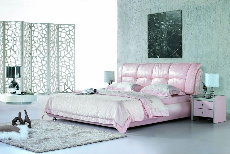 Pink double bed design #8699, View pink double bed design,...