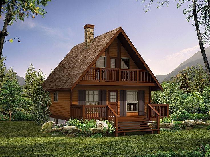 Chalet house plans photos