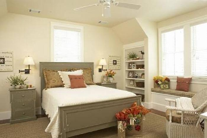 French cottage bedroom decorating ideas