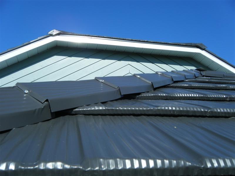 metal shake roof photos