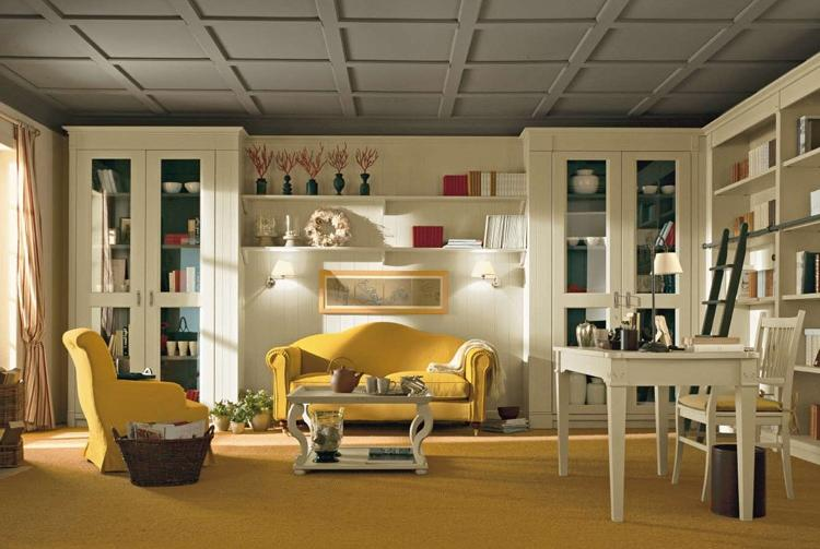 Chambre style anglais moderne