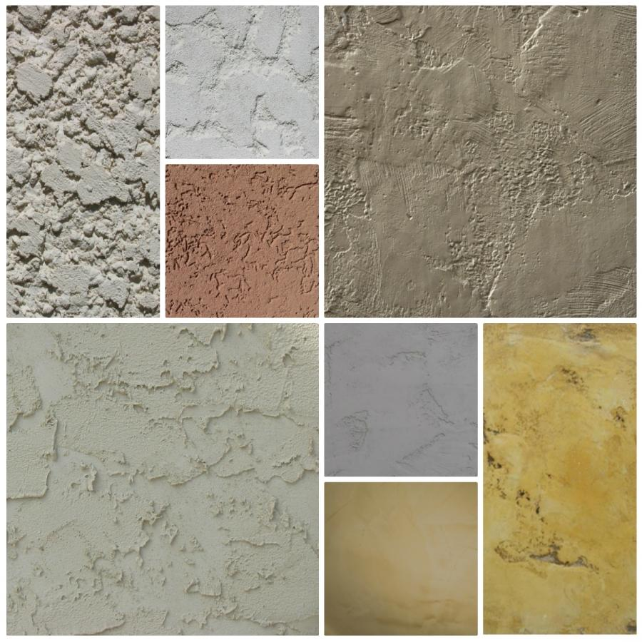 Stucco Textures, A Visual Aid