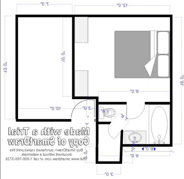 Bend in Hallway layout