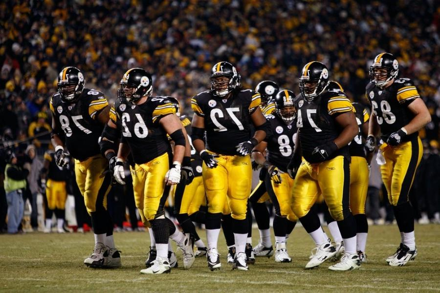 Steelers O-Line Taking Shots Over the Holding Penalties -... source