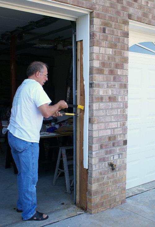 Garage Door Photo Eye Replacement