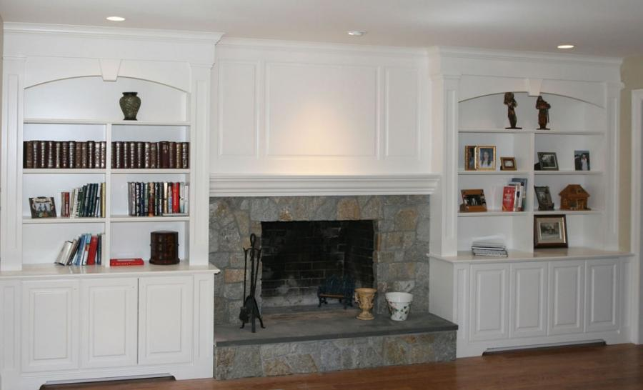Fireplace Wall Unit Photos