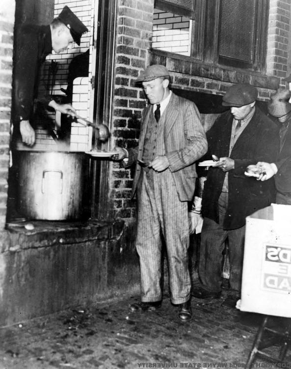 top soup kitchens in the 1930s explores how