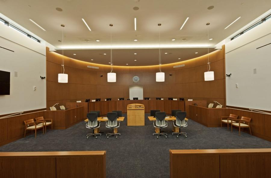 US Air Force Judicial Courtroom, NCRAFF Andrews AFB