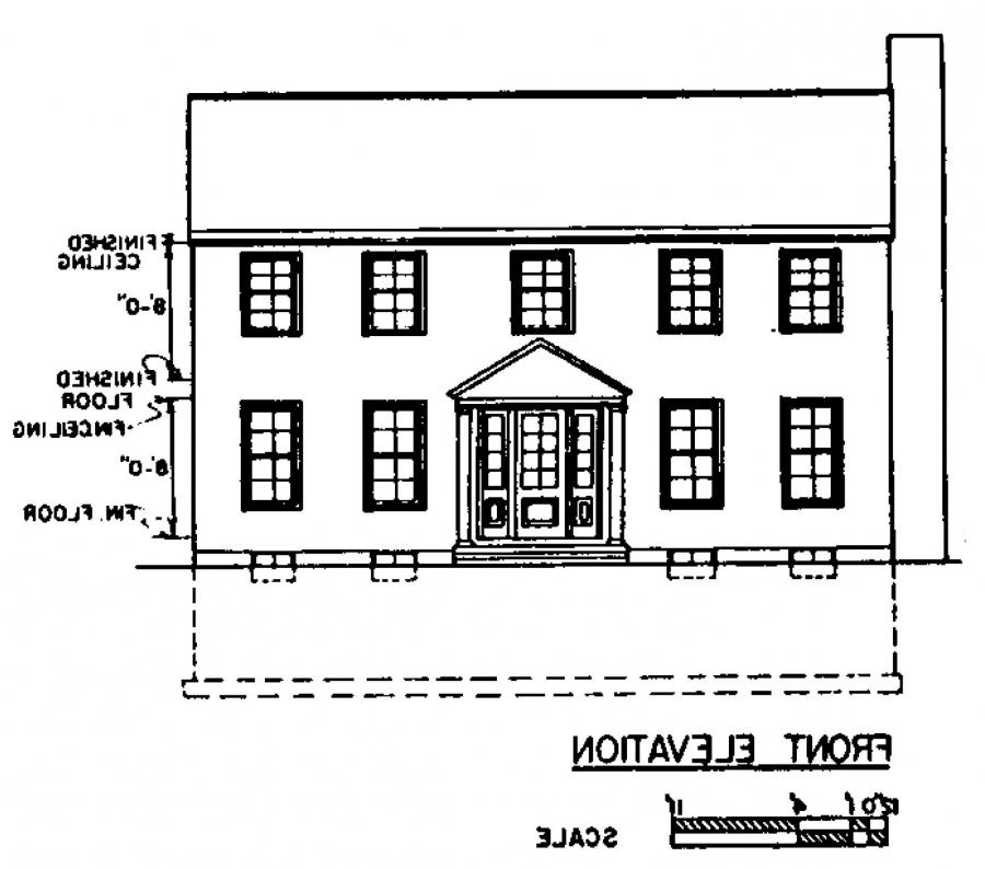 front view house plans photos