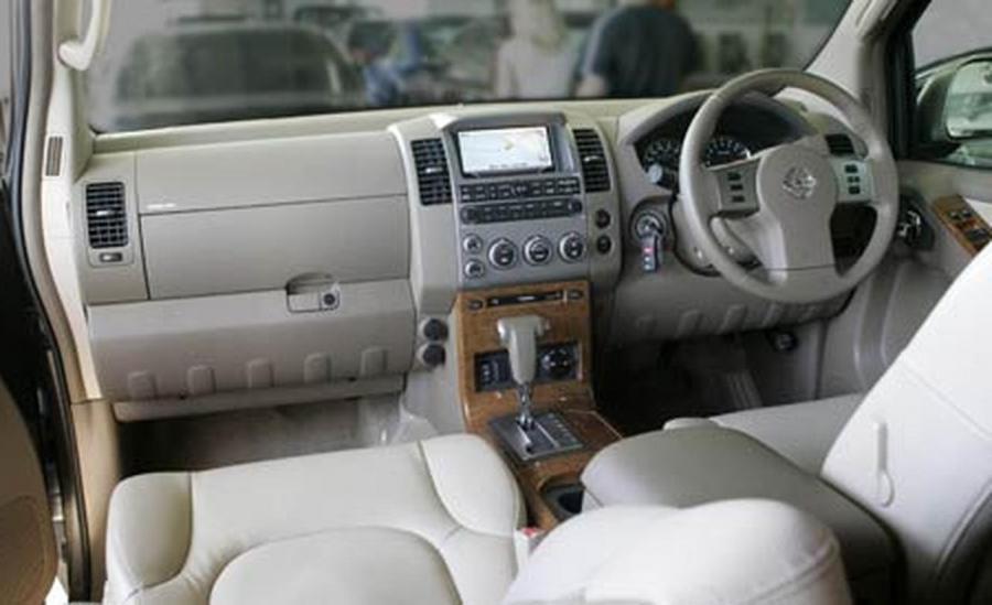 Nissan Pathfinder Interior Photos