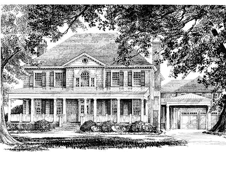 Southern living centennial house photos for Southern charm house plans