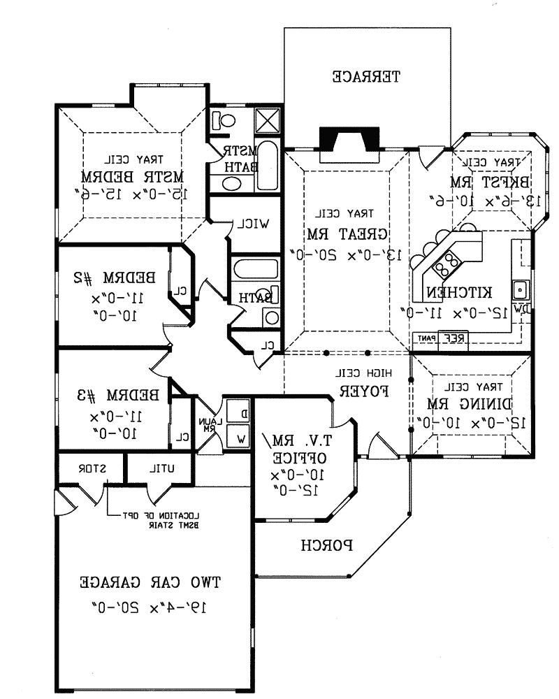 Contemporary ranch house plans with photos for Contemporary ranch house plans