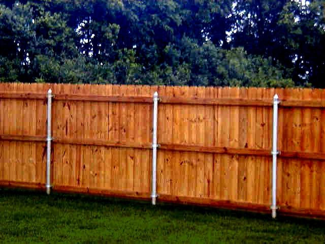 Wood Fence Posts Photos