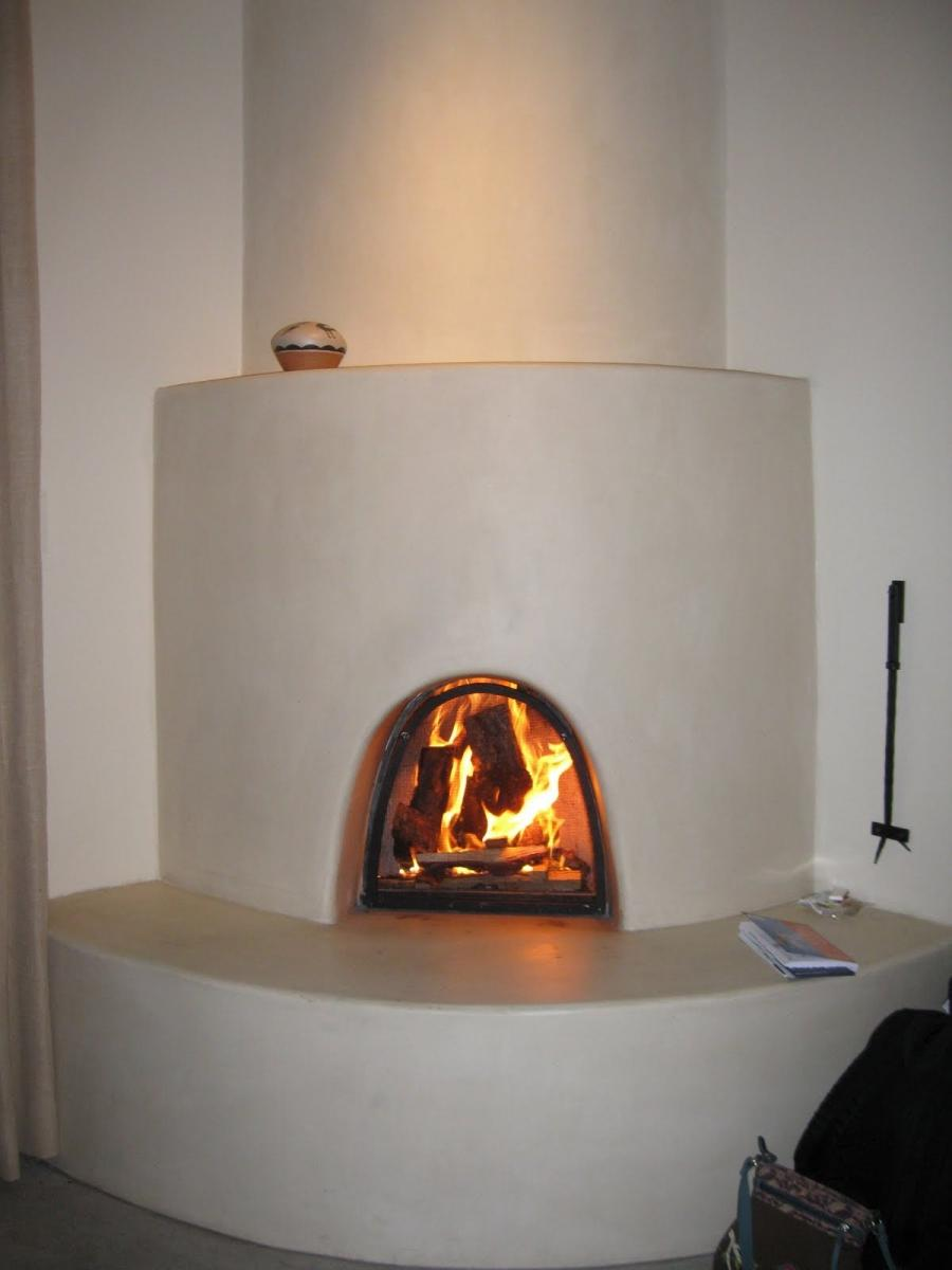 Kiva Fireplace Photo