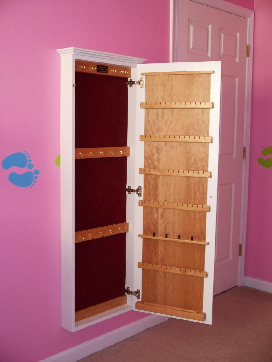 Built In Wall Jewelry Cabinet Pictures
