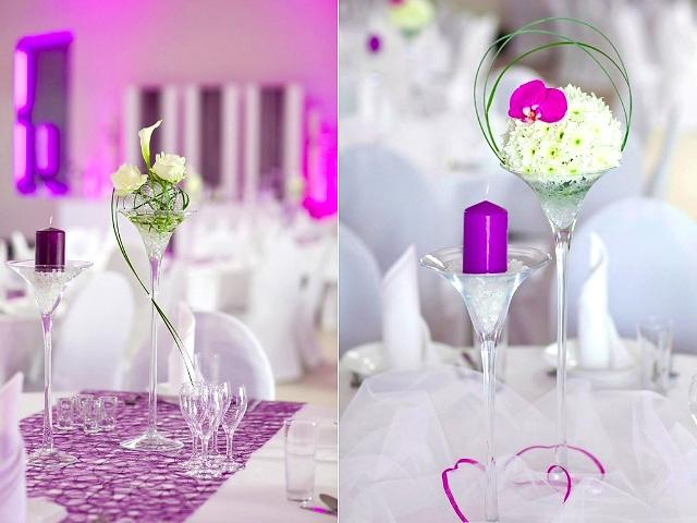 image: wedding table decorations