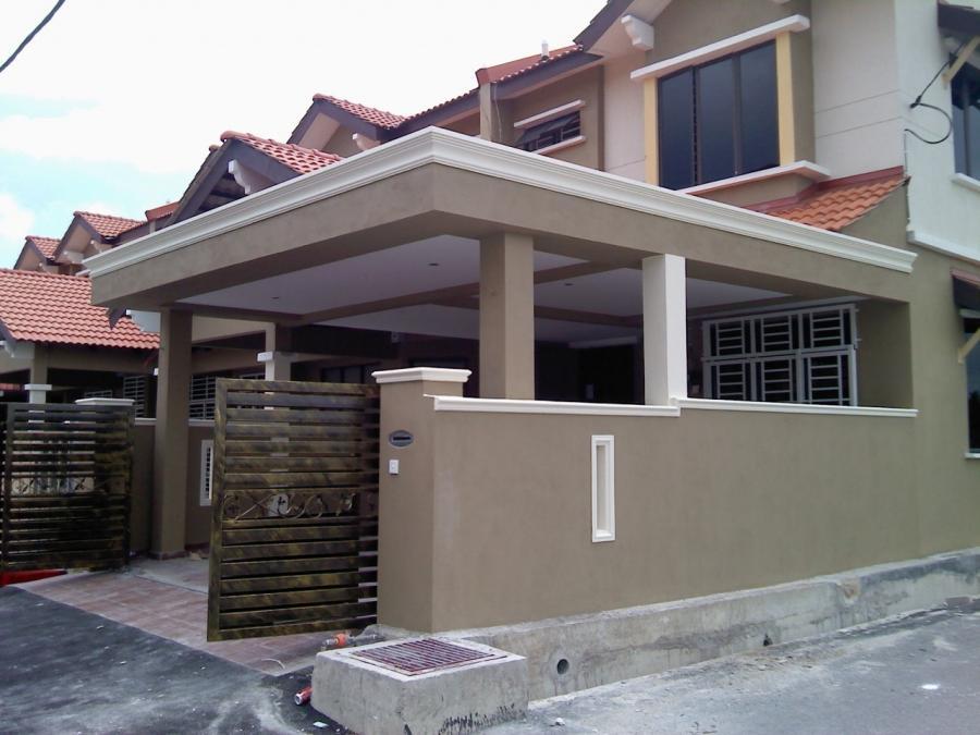 Car Porch Extension Fencing Wall Auto Gate Floor Tiles