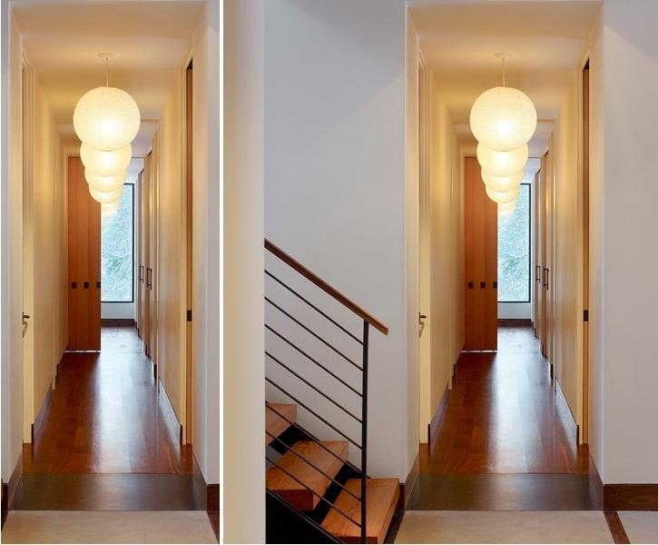 If doorways throughout the length of your hallway interfere with...