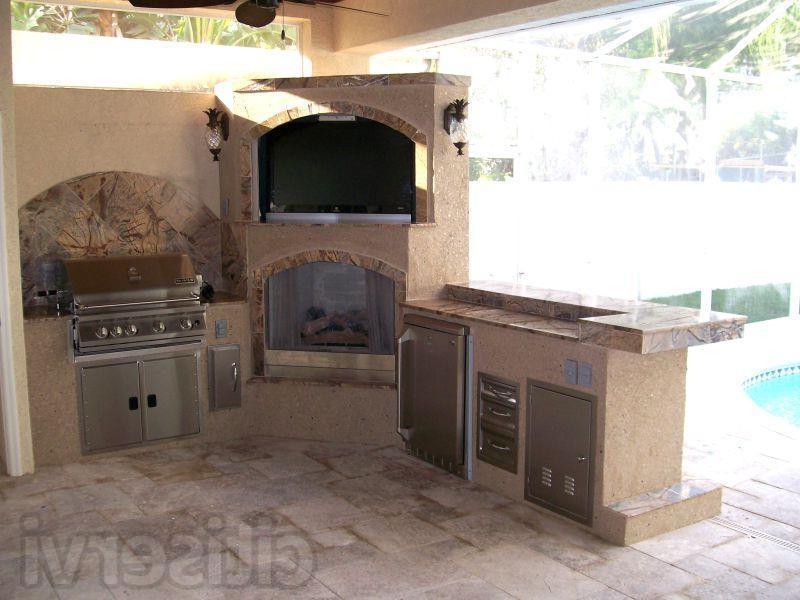 outdoor kitchen photos florida
