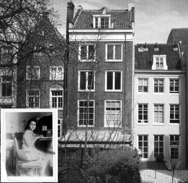 personal reflection of anne franks house The anne frank house (dutch: anne frank huis) is a writer's house and biographical museum dedicated to jewish wartime diarist anne frank the building is located on a canal called the prinsengracht, close to the westerkerk, in central amsterdam in the netherlands.